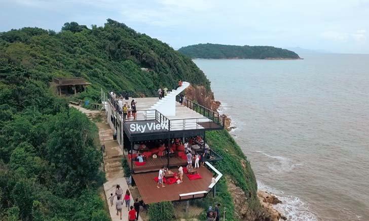 ทะเล หน้าผา บ่อปลา คาเฟ่ ที่จันทบุรี!