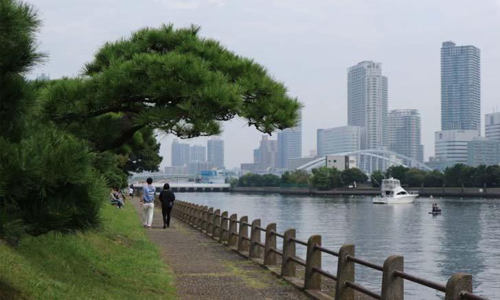 พาชม Hamarikyu Gardens สวนสาธารณะเก่าแก่ตั้งแต่สมัยเอโดะ