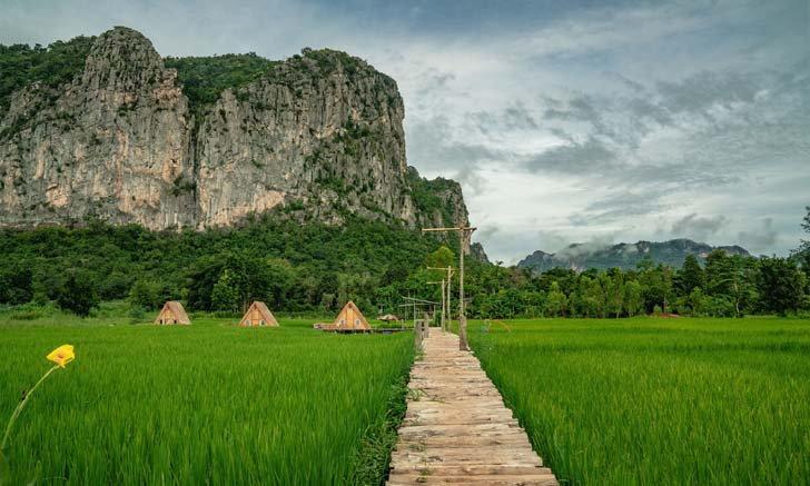ภูผาม่าน อำเภอในม่านหมอกและขุนเขา ของจังหวัดขอนแก่น