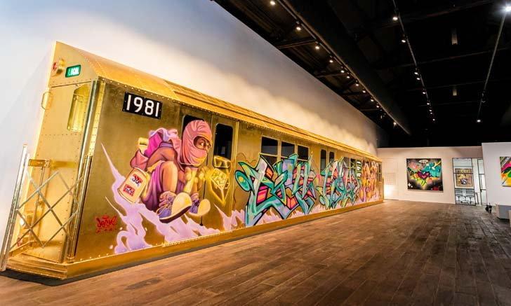 โบกี้หมายเลข 1981 สู่ยุคทองของงานกราฟิตี้นิวยอร์กที่ Aurum Gallery