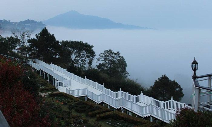 ที่พักเขาค้อ Vin view English rose garden Resort