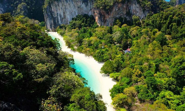 เกาะยาวน้อย พื้นที่สำหรับคนที่ชอบภูเขาและทะเล