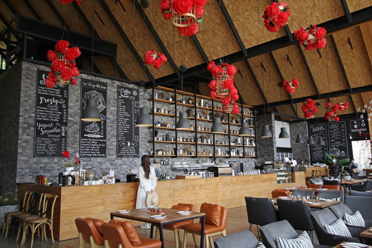 The Village Farm To Cafe คาเฟ่กาญจนบุรี3