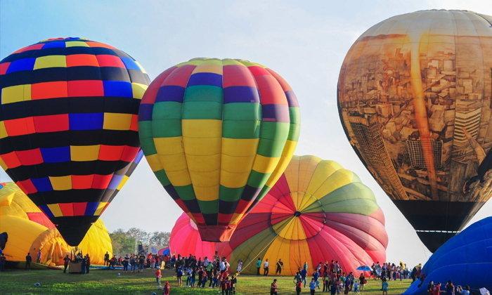 ยกเลิกจัดงาน Singha Park Chiangrai Valentine's Balloon Fiesta 2021 ป้องกัน COVID-19