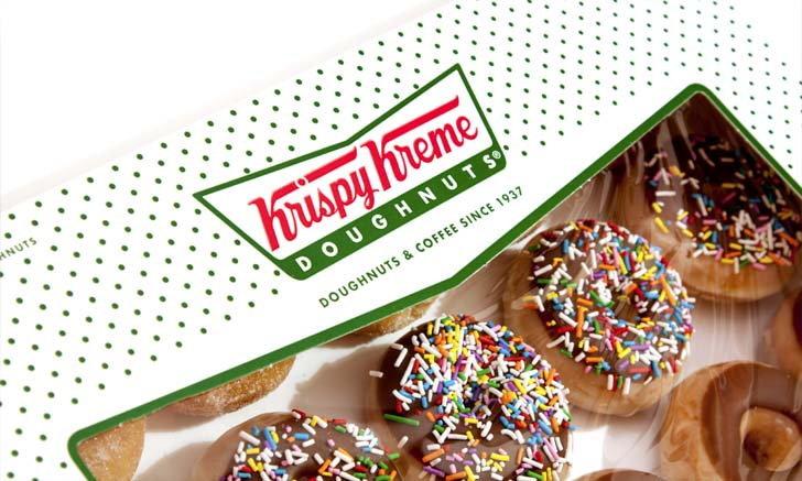 คุ้มสุด! โปรโมชันซื้อ 1 แถม 1 จาก Krispy Kreme ในราคาเพียง 9 บาท วันเดียวเท่านั้น!