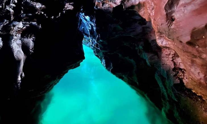 ถ้ำหางหนูพระอินทร์ อันซีนถ้ำมรกตกลางทะเลสงขลา!