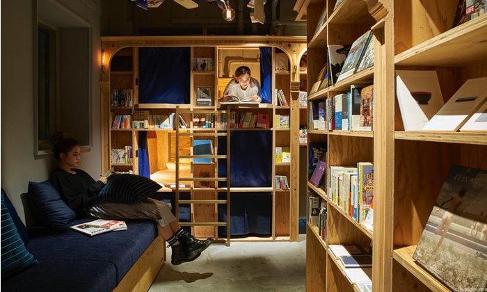 คาวาอี้! โรงแรมญี่ปุ่นที่ห้องพักซ่อนตัวอยู่ในหิ้งหนังสือ