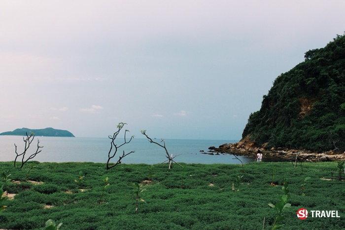 สถานที่ท่องเที่ยวภายในเกาะขาม