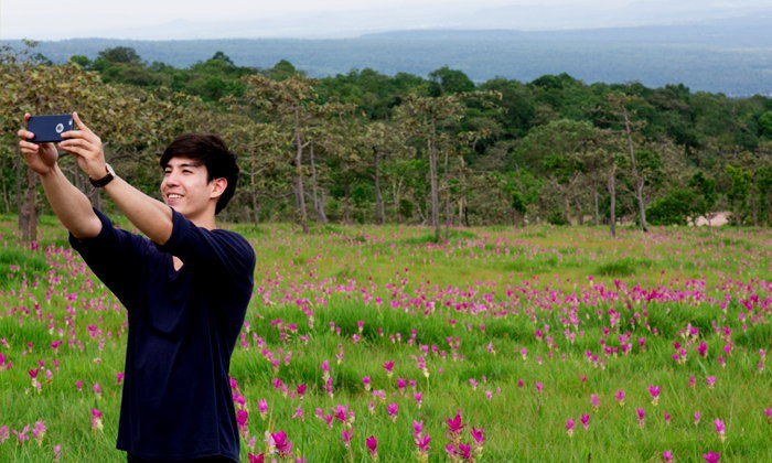 """""""ทุ่งดอกกระเจียว"""" เบ่งบานที่สุดในรอบปี ที่นี..อุทยานแห่งชาติไทรทอง"""