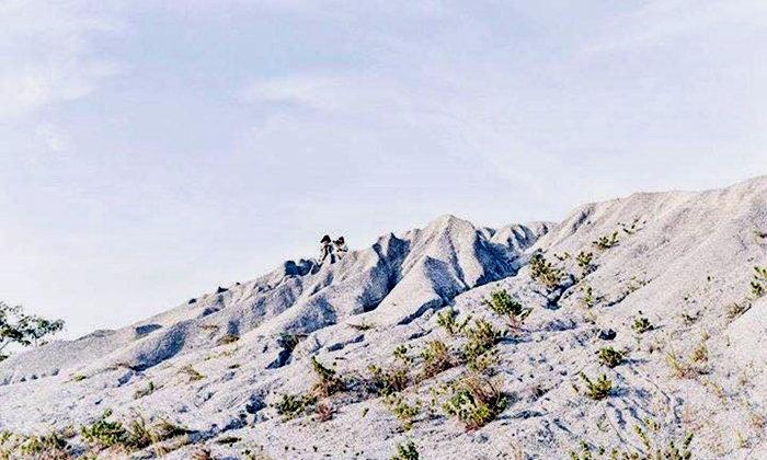 """เห็นเขาเรียกกันว่า """"ภูเขาหิมะ"""" แห่งชลบุรี"""