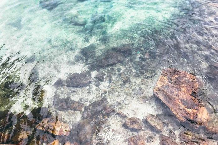 น้ำใสๆ ที่เกาะหวาย