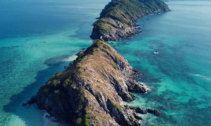 เกาะ Cock Burn เกาะใหม่ล่าสุดทะเลพม่า เปิดให้เข้าชมทริปแรก 1 กุมภาพันธ์นี้