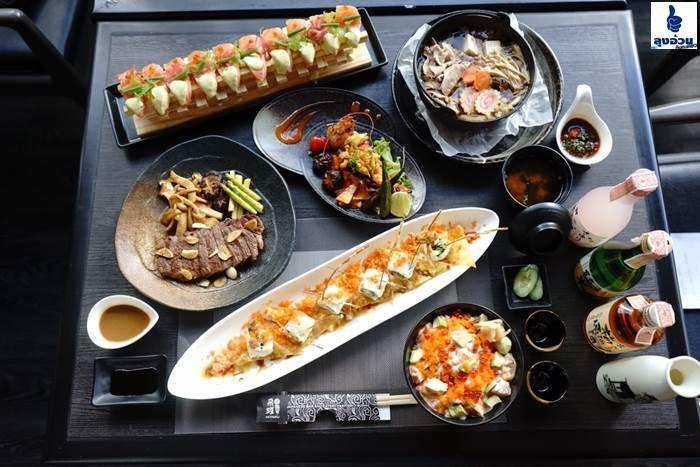 เป็นภัตตาคาร อาหารญี่ปุ่น แนวฟิวชั่น อีกร้าน HIYAKU RESTAURANT