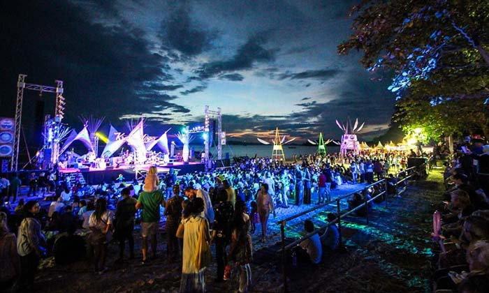 ภาพบรรยากาศงาน Krabi Naga Fest 2018 งานฟูลมูนเวอร์ชั่นกระบี่