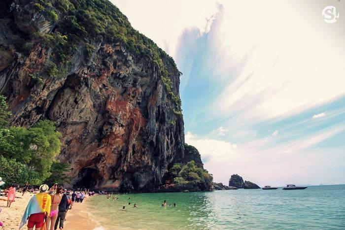 หาดไร่เลย์ ถ้ำพระนาง ที่เที่ยวกระบี่
