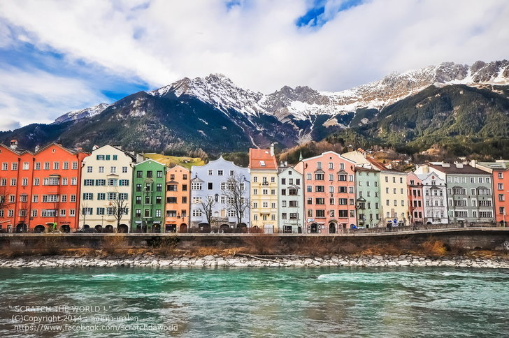 Innsbruck , Austria เมืองเล็กๆ แต่หัวใจไม่เล็ก ...