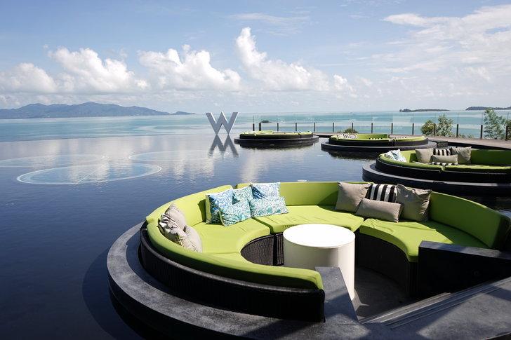 W Retreat Koh Samui – โรงแรมสุดหรู ติดทะเล เครือ Starwood ประเทศไทย
