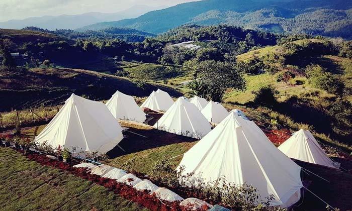 The Best Camp เชียงใหม่ นอนเต็นท์กลางเขาแบบสุดคลู พักผ่อนท่ามกลางดวงดาว!