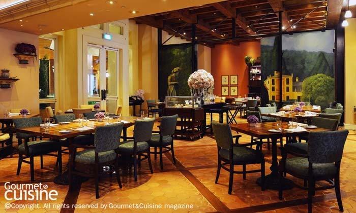 อิตาเลียนฟู้ดส์ที่ห้องอาหารรอสซินีส์