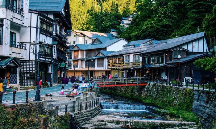 Ginzan Onsen เมืองแห่งออนเซ็นกลางหุบเขา สมบัติล้ำค่าจากยุคโบราณของญี่ปุ่น