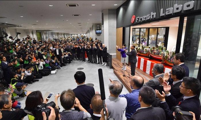 """""""ตลาดปลาโทโยสุ"""" ตลาดปลาแห่งใหม่ของโตเกียว เปิดอย่างเป็นทางการแล้ว"""