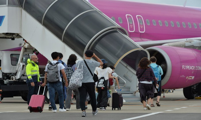 สนามบินคันไซเปิดให้บริการไฟลท์ในประเทศบางส่วนแล้ว!