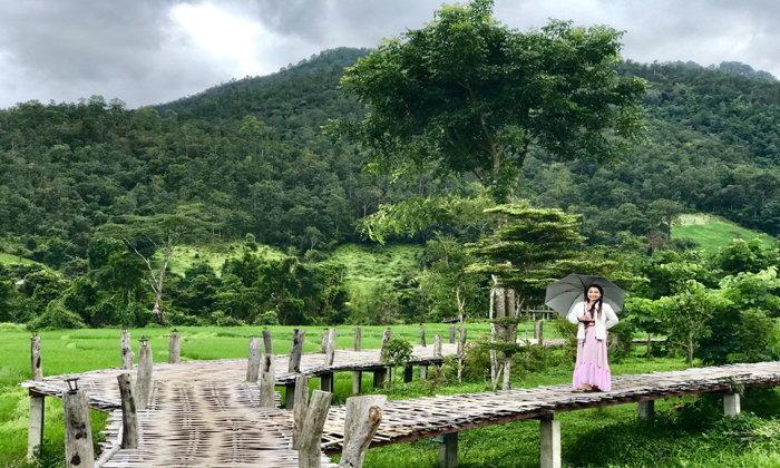 โขกู๊โส่ สะพานบุญเชื่อมสวรรค์ มหัศจรรย์แห่งสะพานไม้ไผ่ยาวที่สุดในประเทศไทย!