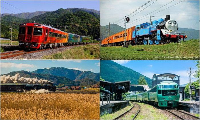 5 อันดับรถไฟท่องเที่ยวแถบคันไซที่คนสนใจเที่ยวในฤดูใบไม้ร่วง