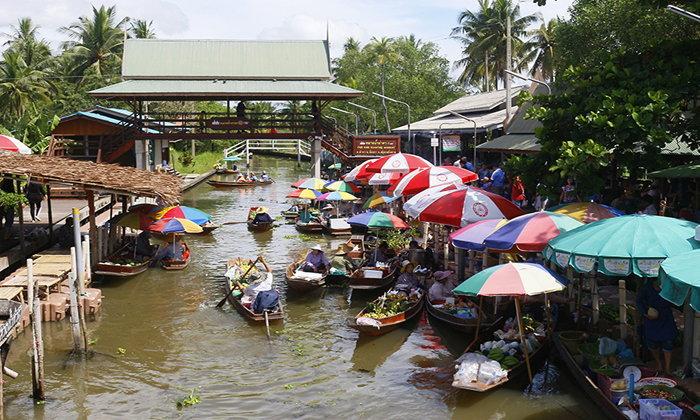 ตลาดน้ำท่าคา มนต์เสน่ห์ตลาดน้ำกลางสวนไพร  @สมุทรสงคราม