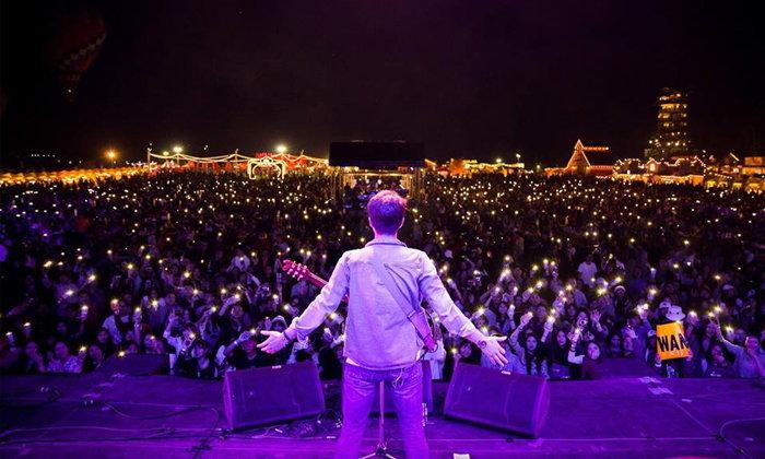 """""""Singha Park Chiangrai Farm Festival On The Hill 2018"""" ฟังเพลงท้าลมหนาวจากศิลปินดังตลอด 5 คืน"""