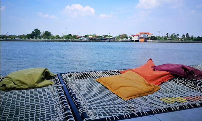 โรงสี สตูดิโอ เกาะเกร็ด จุดเช็กอินถ่ายรูปสวยริมแม่น้ำเจ้าพระยา