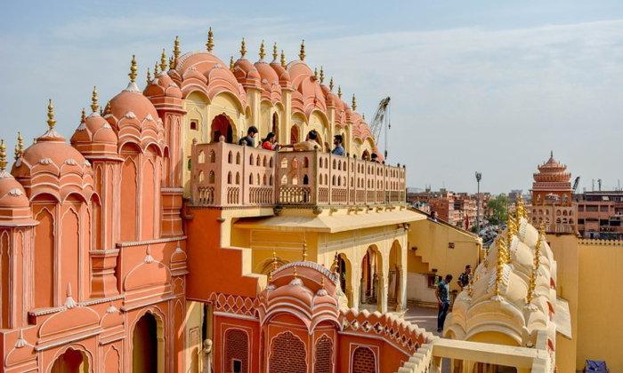เที่ยวชัยปุระ อินเดีย พาสะบัดส่าหรีที่นครสีชมพู