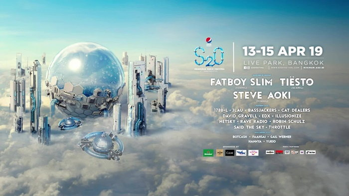 S2O Songkran Music Festival 2019
