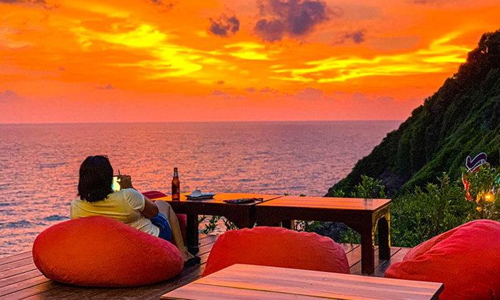 Sky View Cafe at เกาะเปริด คาเฟ่วิวสุดอลังการ บนเกาะลับแห่งจันทบุรี