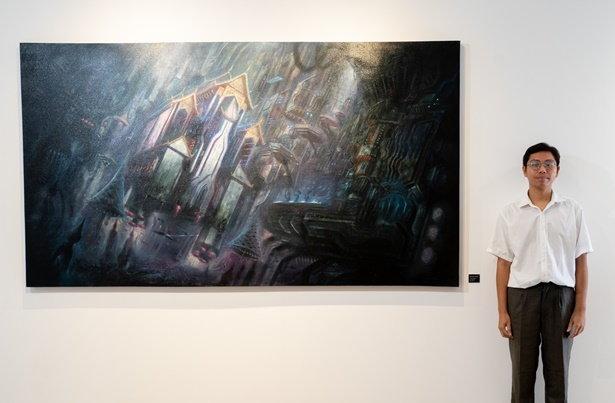 กมลฉัตร เป็งโท ศิลปินเจ้าของผลงาน The Beliefs