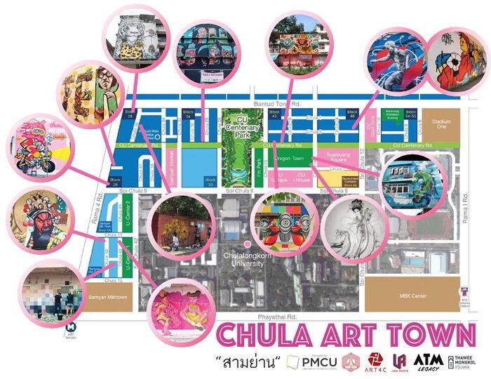 chula-art-town-samyan-map