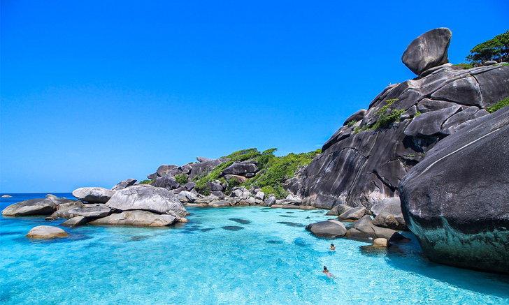 เกาะสิมิลัน ในวันที่สวยงามที่สุด