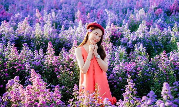 นึกว่าอยู่สวิตเซอร์แลนด์! I Love Flower Farm สวนดอกไม้เปิดใหม่น่าไปเช็กอิน
