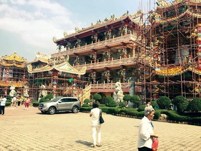 วิหารเทพสถิตพระกิติเฉลิม ตรุษจีน