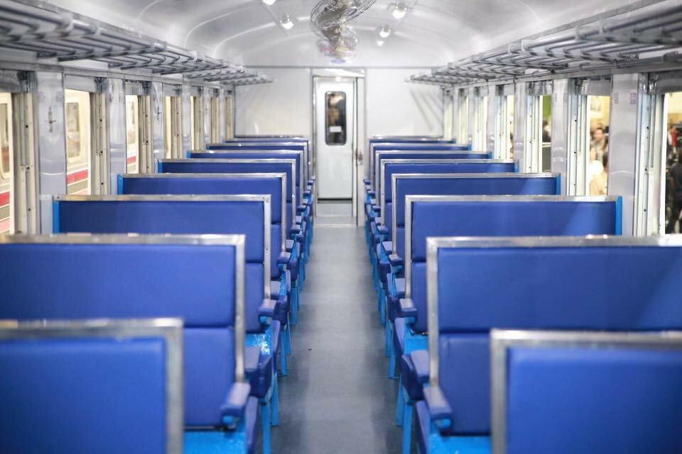 รถไฟนำเที่ยวเขื่อนป่าสักชลสิทธิ์