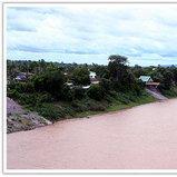 แม่น้ำโขง และทิวทัศน์ริมฝั่งแขวงสะหวันนะเขต
