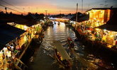 """"""" 9 ตลาดน้ำ..ทั่วไทย """" เก๋ไก๋ ในวิถีชีวิตแบบดั้งเดิม"""