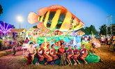 """""""Fish Town Paradise @Nakhon Phanom""""  ขบวนแห่หุ่นปลายักษ์นานาพันธุ์ครั้งยิ่งใหญ่ประจำปี 2563"""
