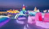 ภาพบรรยากาศ Harbin Ice and Snow Festival 2021 เทศกาลแกะสลักน้ำแข็งที่ยิ่งใหญ่ที่สุดในโลก!