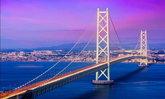 Akashi Kaikyo Bridge หนึ่งในสะพานแขวน ที่ยาวที่สุดในโลก