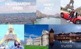 ตอนที่ 1 : แบกกระเป๋า เที่ยวยุโรป 15 วัน ฝรั่งเศส สวิส อิตาลี กับผองเพื่อน ราคา 67,xxx บ. ไม่รวมกินช๊อป (เที่ยวหนักมาก เก็บทุก Landmark ไม่ชะโงกทัวร์)