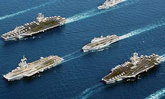 อลังการที่สุดเท่าที่เคยมีมา! เรือรบนานาชาติกว่า 50 ลำ ในงานมหกรรมทางเรือนานาชาติ 2017