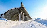ชมอุโมงค์มหัศจรรย์ สุดยอดประติมากรรมแห่ง Hokkaido