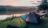 เจ็ดคด-โป่งก้อนเส้า ลานกางเต็นท์สุดชิคริมทะเลสาบ กลางคืนนอนดูดาวสุดโรแมนติก