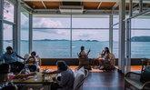 รีวิว Cafe Amazon ริมทะเล หนึ่งเดียวในประเทศไทยที่สัตหีบ